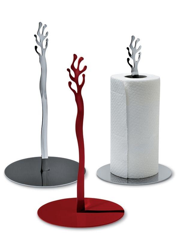 alessi mediterraneo k chenrollenhalter rot online kaufen. Black Bedroom Furniture Sets. Home Design Ideas