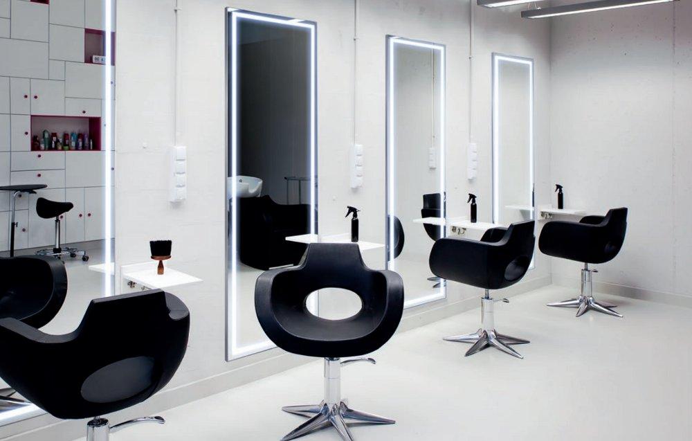 alu style led spiegel mit aluminiumrahmen online kaufen. Black Bedroom Furniture Sets. Home Design Ideas
