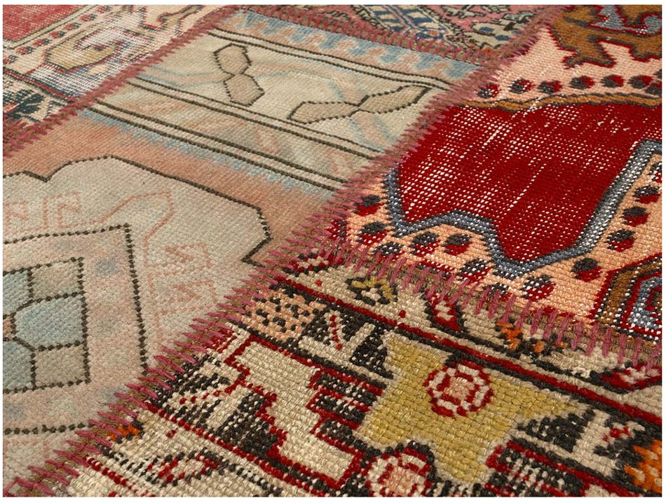 ANGELO RUGS Patchwork Teppich UP CYCLE sondermulticolor