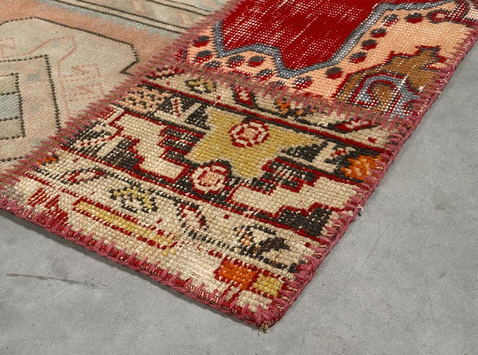 angelo rugs patchwork teppich up cycle sonder multicolor. Black Bedroom Furniture Sets. Home Design Ideas