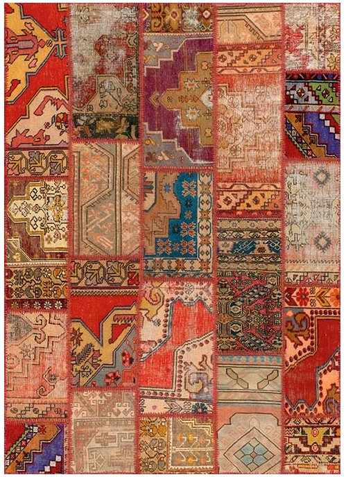 angelo rugs patchwork teppich up cycle sonder multicolor online kaufen. Black Bedroom Furniture Sets. Home Design Ideas