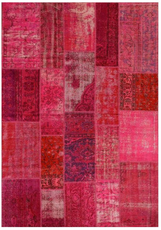 ANGELO RUGS Patchwork Teppich UP CYCLE pink online kaufen