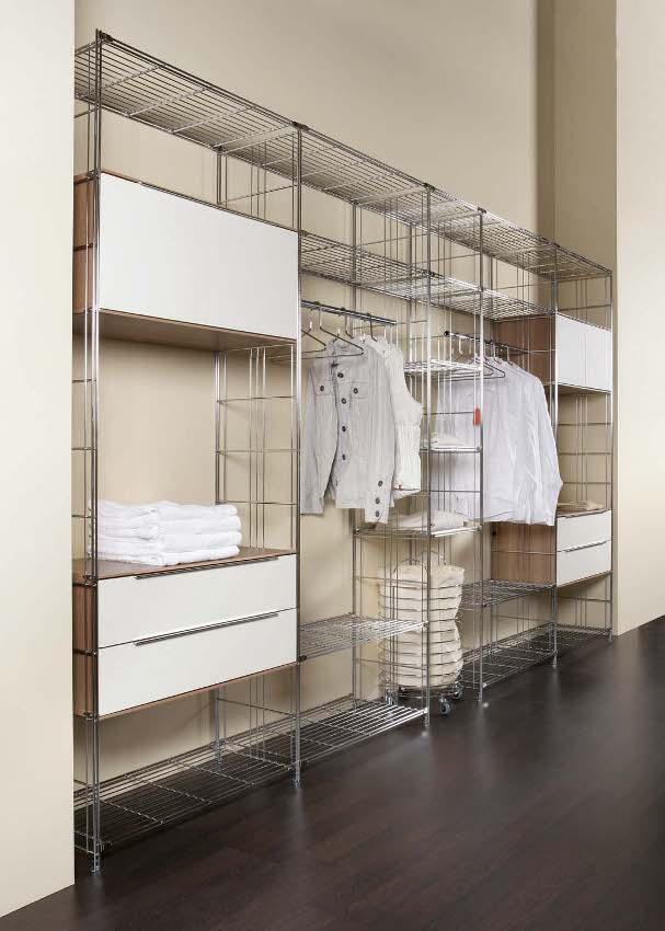 Открытая гардеробная комната от балтон - галерея идей balton.