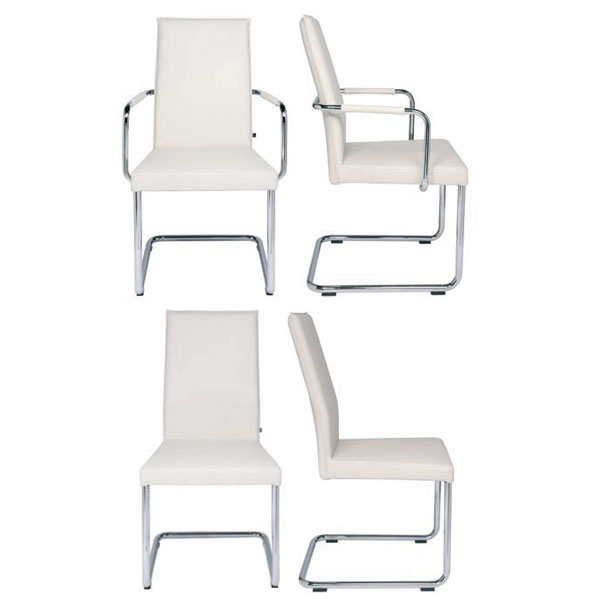 kff m bel freischwinger aura mit armlehnen online kaufen. Black Bedroom Furniture Sets. Home Design Ideas