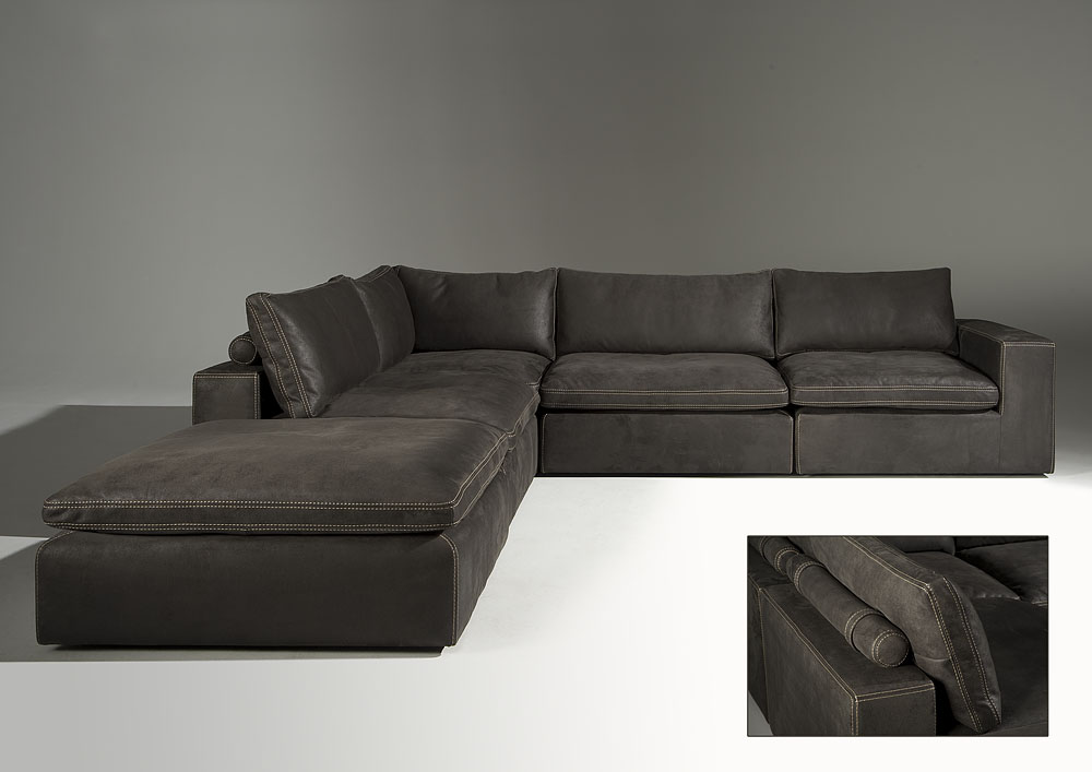 designetagen ecksofa garnitur modell leon online kaufen. Black Bedroom Furniture Sets. Home Design Ideas