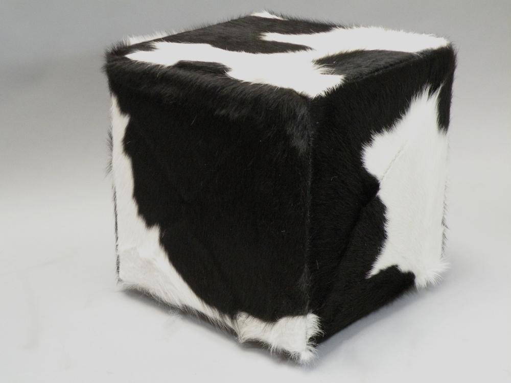 hocker mit kuhfell images. Black Bedroom Furniture Sets. Home Design Ideas