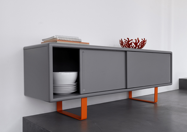 m ller m belfabrikation sideboard k16 s1 mit schiebet ren online kaufen. Black Bedroom Furniture Sets. Home Design Ideas