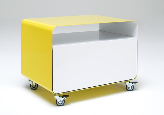 m ller m belfabrikation rollwagen mit klappt r rw107 2. Black Bedroom Furniture Sets. Home Design Ideas