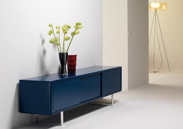 m ller m belfabrikation sideboard k16 s2 mit schiebet ren. Black Bedroom Furniture Sets. Home Design Ideas