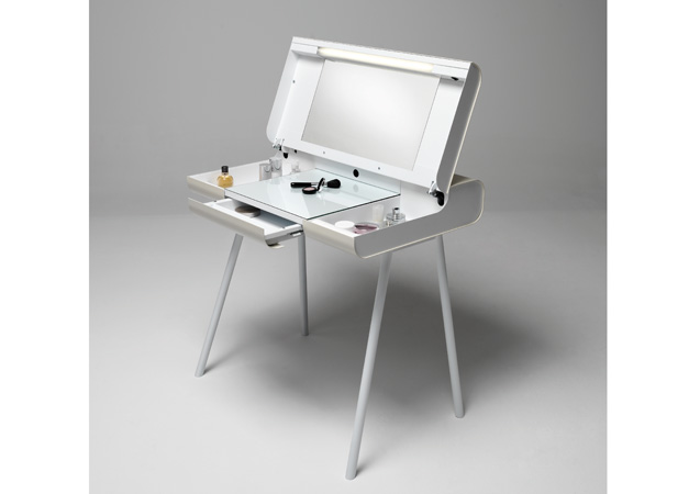 M ller m belfabrikation schminktisch aufklappbar st08 online kaufen - Meuble de rangement pour maquillage ...