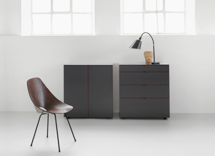 piure line sideboard online kaufen. Black Bedroom Furniture Sets. Home Design Ideas