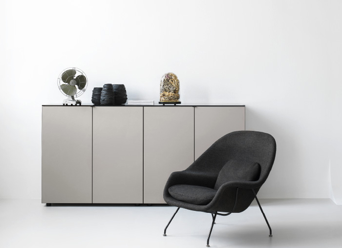 piure line sideboard online kaufen. Black Bedroom Furniture Sets. Home Design Ideas
