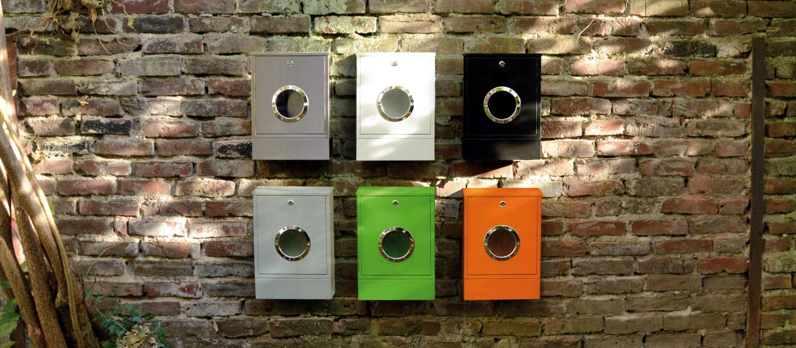 Briefkasten Lettermann radius design briefkasten letterman mini kaufen