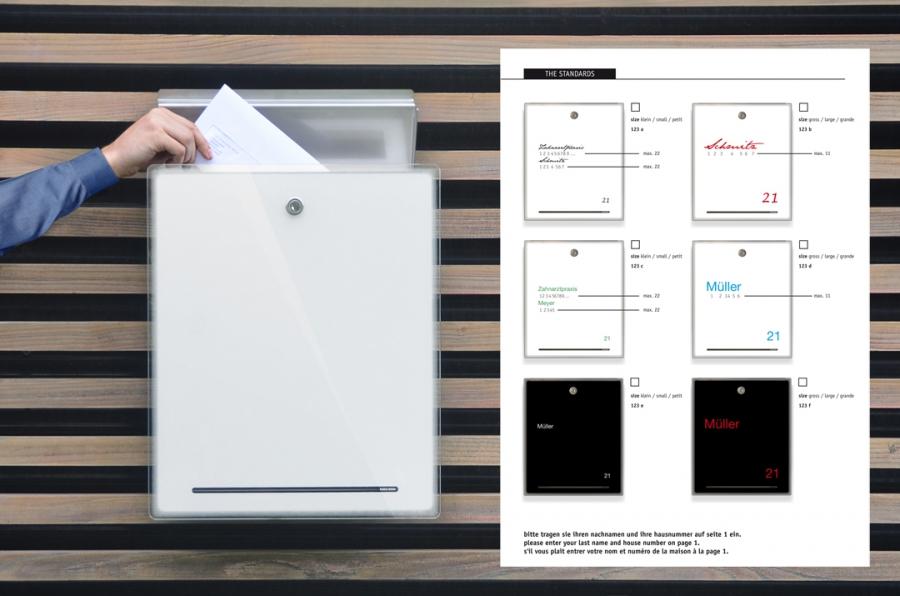 Briefkasten Radius radius design briefkasten letterman 3 kaufen
