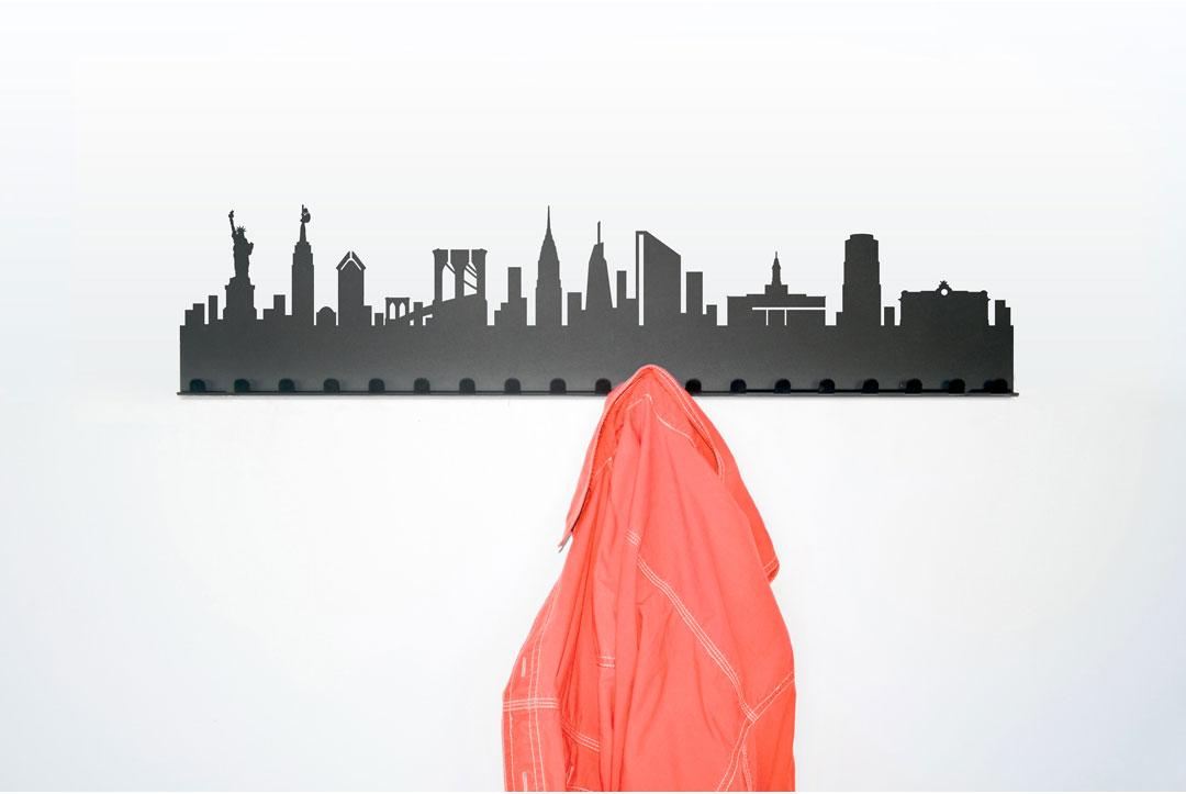 Radius design garderobe st dtegarderobe new york online kaufen for Garderobe new york