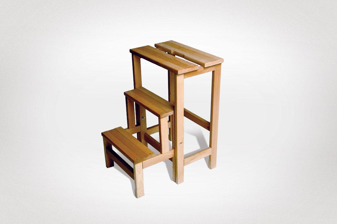 radius design hocker leiter holz massiv online kaufen. Black Bedroom Furniture Sets. Home Design Ideas