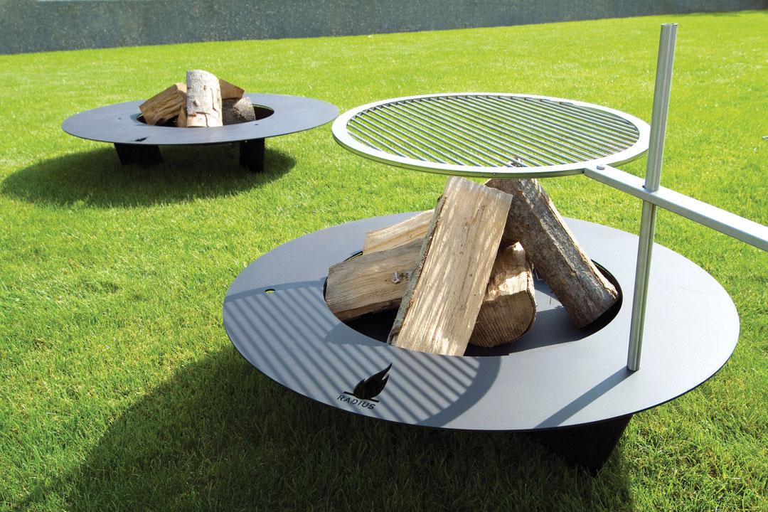 Design Feuerstelle radius design feuerstelle fireplate kaufen