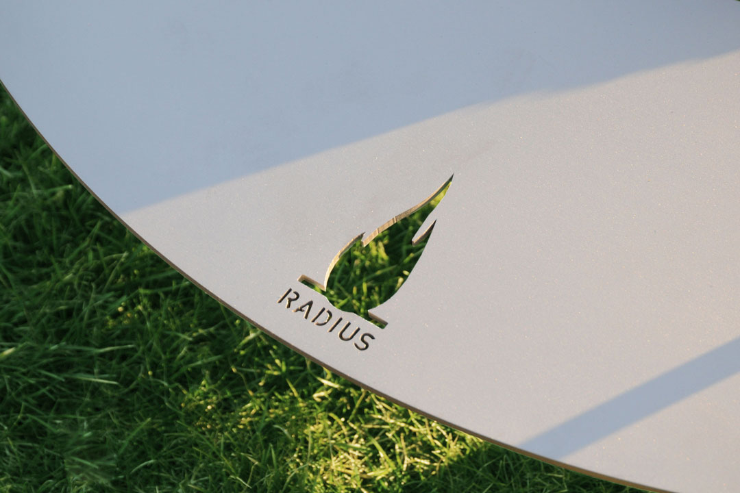 radius design feuerstelle fireplate online kaufen. Black Bedroom Furniture Sets. Home Design Ideas
