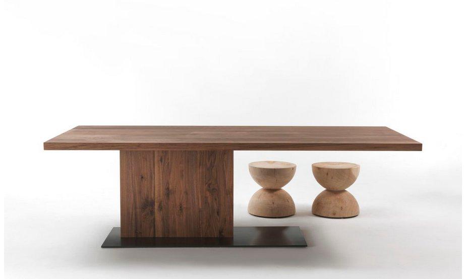 Riva tisch liam design inspiration f r for Tisch design wood