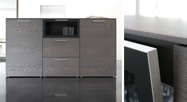 Design Wohnwand Straight ~ mit extravagantem design mango massiv lackiert guenstiger Wohnwand